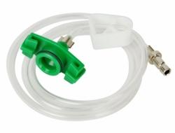 Cartridge adapter aluminum 10cc green