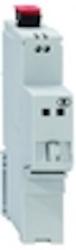 OMC100REG-220 - Optical Media Converter - Fast Ethernet for DIN rail mounting